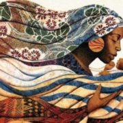 Maternal instinct. Artist Keith Duncan Mallett