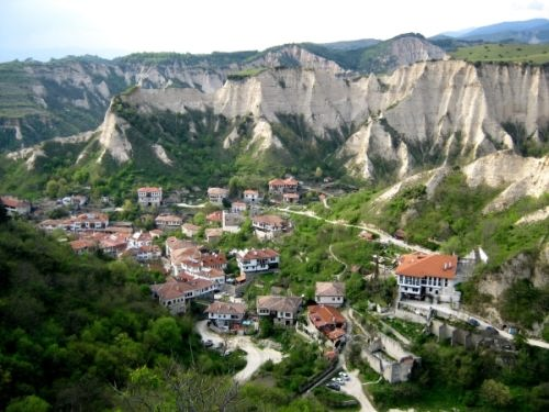 Melnik is the smallest Bulgarian town