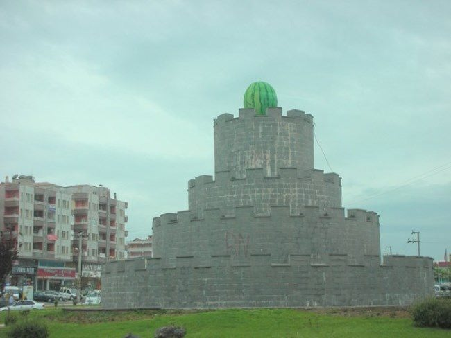 Monument to watermelon in Turkey