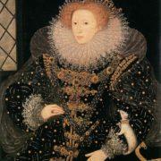 Nicholas Hilliard. Elizabeth I Tudor with an ermine