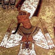 Osiris - the first Egyptian god of death