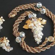 Pretty grape jewelry