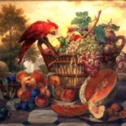 Radomsky Still Life with a Parrot