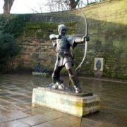 Robin Hood monument