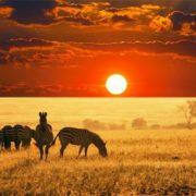 Sunset in Nigeria
