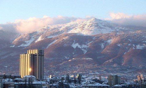 The Vitosha mountain range