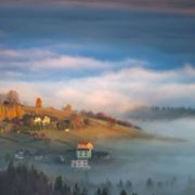 The first touch of light. Photo Marcin Sobas