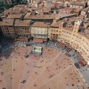 The historical center of Siena
