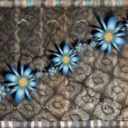 Wall Of Flowers by Magnusti782SATU OLI