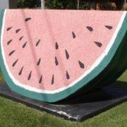 Watermelon monument in Georgia, USA