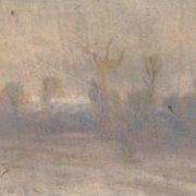 Winter. Fog. Kuiji