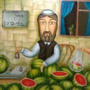 Zurab Martiashvili. The seller of watermelons