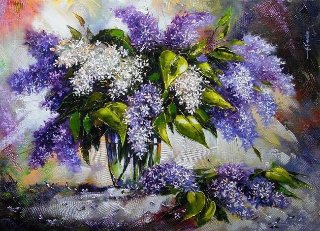 A. Khodyukov. Lilac mood