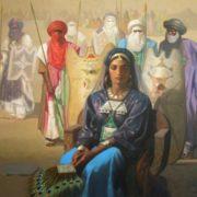 Algerian artist Hocine Ziani
