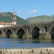Ancient bridge in Ponte de Lima