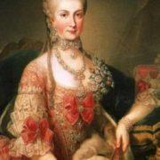 Archduchess Marie Christine of Austria, 1760
