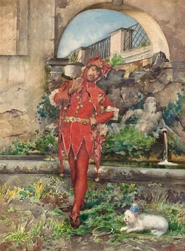 Augusto Corelli. The Jester