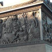 Bas-relief plates on Alexandrian Column