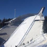 Biathlon arena in Holmenkollen
