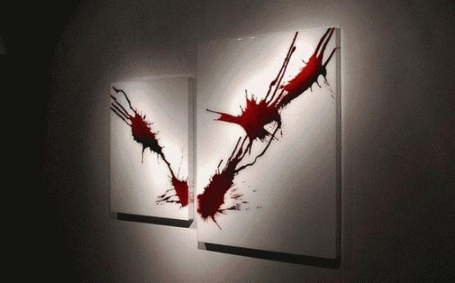 Bloody art by Jordan Eagles