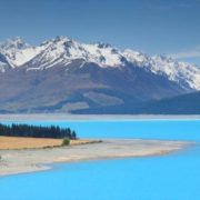 Blue Lake Pukaki, New Zealand