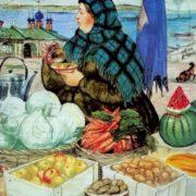 Boris Kustodiev. Vegetables, 1920