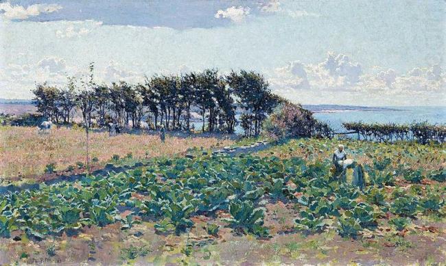 E. Phillips Fox. Cabbage Patch