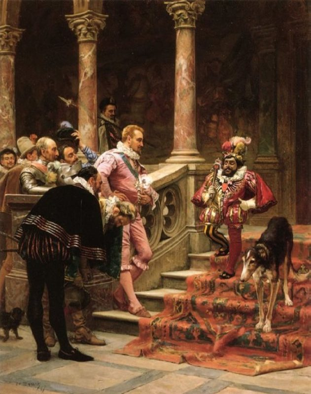 Eduardo Zamacois y Zabala. The Favorite of the King. Coleccion Frankel Family Trust.