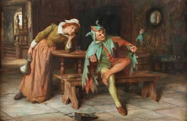 Francis Sydney Muschamp. The Jester