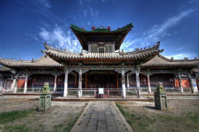 Gandan Monastery - one of the nine wonders of Mongolia