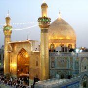 Golden Mosque in Baghdad