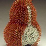 Great sculpture of pencils by Jen Maestre
