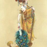 Hera greek goddess by Jeff Davis