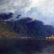 Issak Ilich Levitan. Wonderful Lake Como