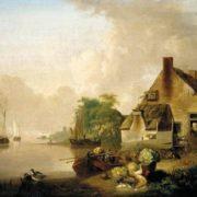 Jan van Os. River Landscape