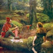 John Collier. In the Forest of Arden