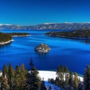 Lake Tahoe in the USA