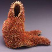 Lovely sculpture of pencils by Jen Maestre