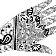 Magnificent mehndi design