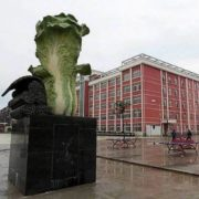 Monument of cabbage in Jiangxi Province, China