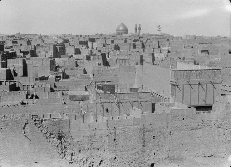 Nedjef, panorama of the city