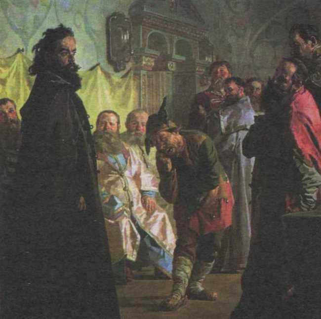 Nikolay Nevrev. The Jester (The Disgraced Boyar). 1891
