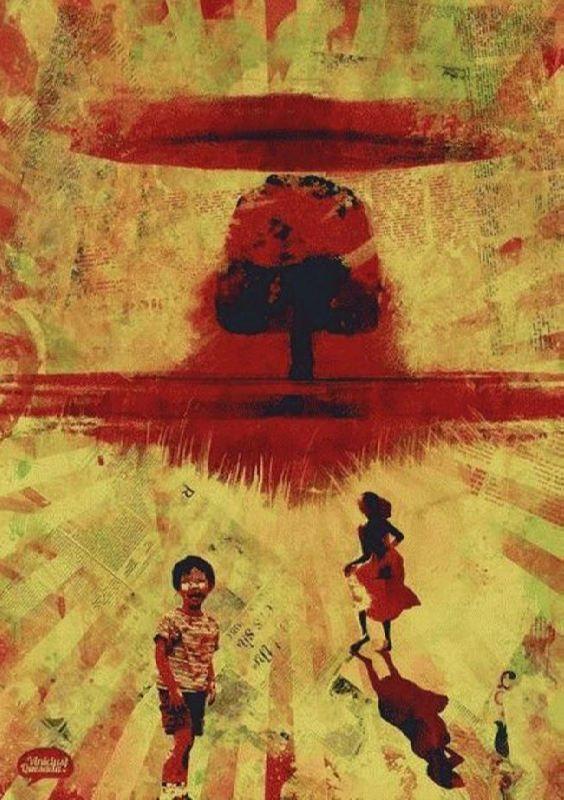 Nuclear war by Vinicius Quesada