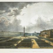 Parade at the opening of the Alexander Column in 1834