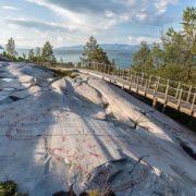Rock paintings in Alta