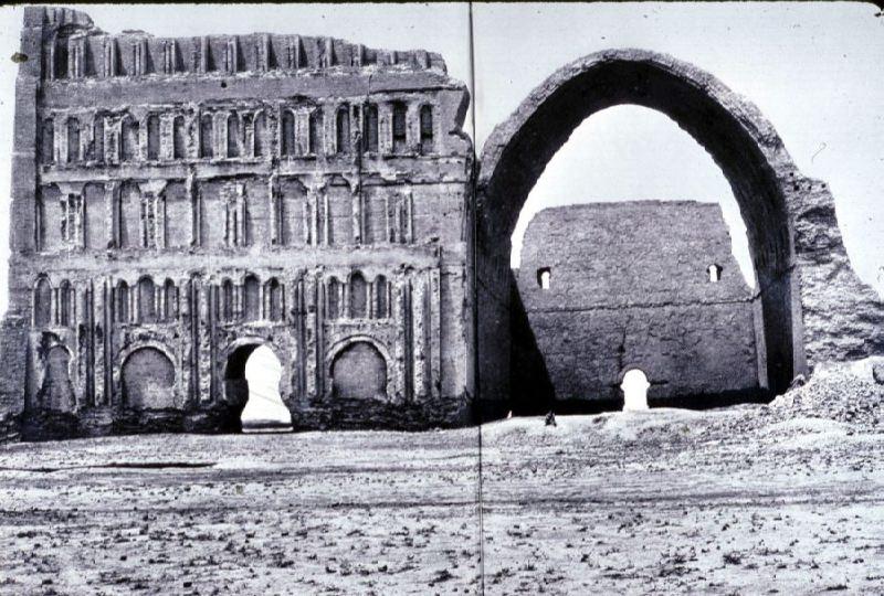 Ruins of the Sasanid Palace in Ctesiphon