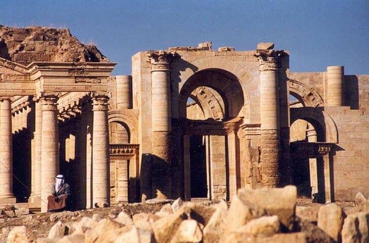 Ruins of the ancient city of Khatra