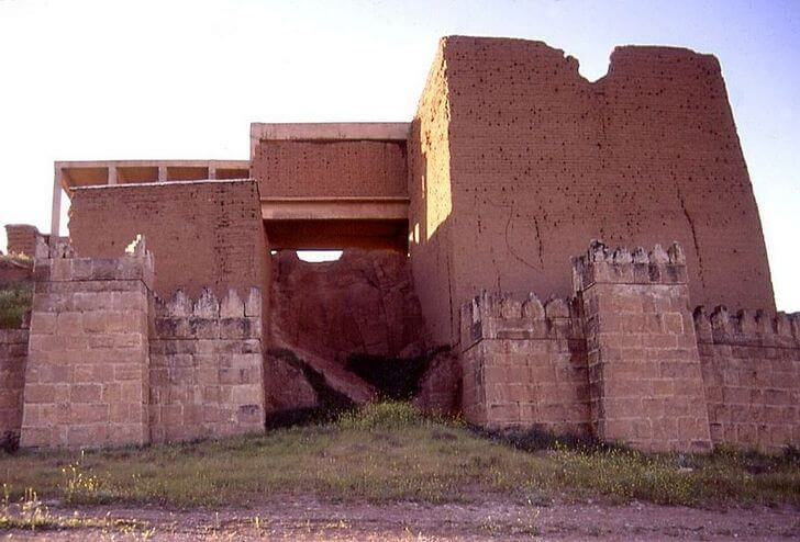 The ancient city of Nineveh