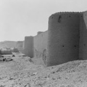 The fortress walls of Najaf