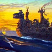To the island of Poseidon